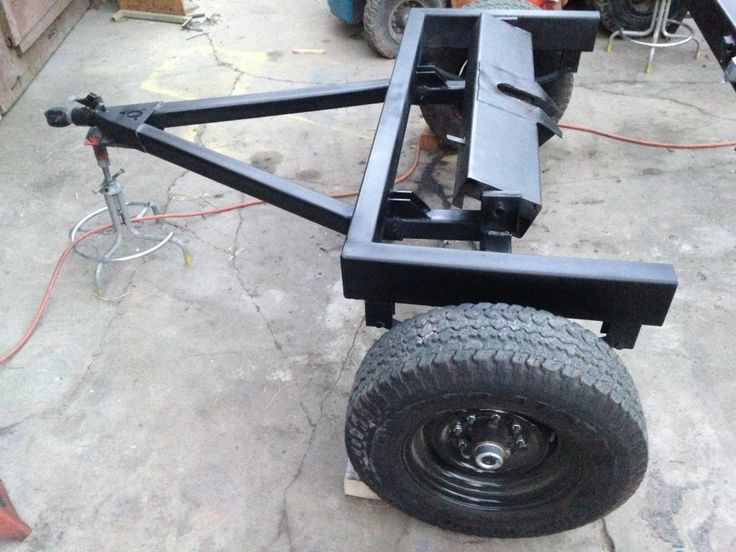 Tiny House Trailer Dolly With 5th Wheel Hitch And Standard