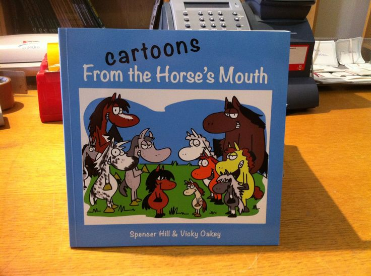 If you have ever wondered what your horse or pony talks about when you are not around, and you know your Appaloosa from your Andalusian, then this book is for you! Over 100 hilarious cartoons featuring horses and ponies with their views on everything from rugs to hay bags, grooming to jumping and lots more. All straight from the horse's mouth! #Thehorsesmouth