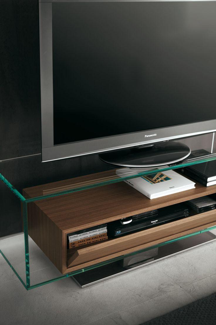 Porada - Aaron swivel TV stand