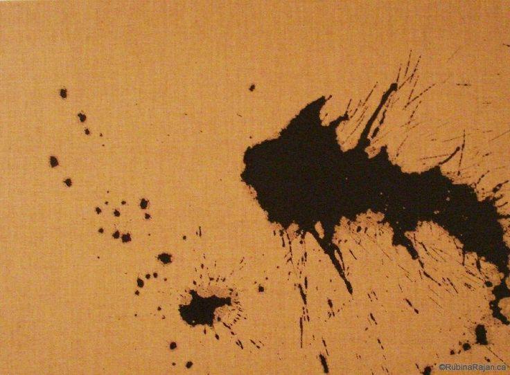 dragon i | acrylic on linen | 20x24