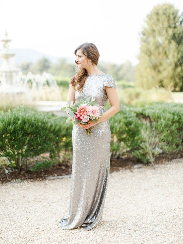 Sorella Vita bridesmaid dresses - photo by Rachel May Photography http://ruffledblog.com/romantic-virginia-estate-wedding-inspiration