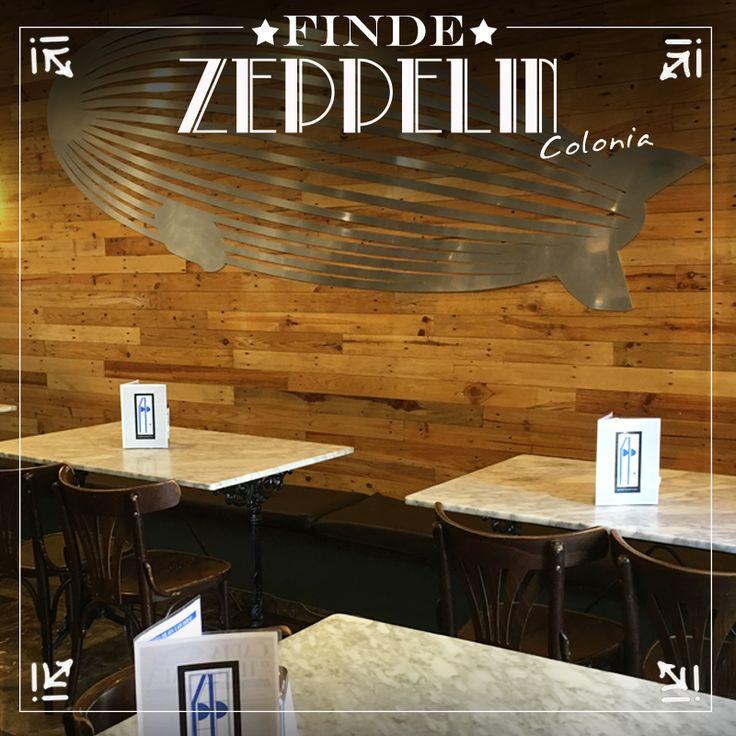 En #Zeppelin Colonia tenemos un lugar reservado para ti! C/Javier García de Leaniz, 1 T.918 591 947 #Restaurante #Torrelodones #ZeppelinFood www.barzeppelin.com