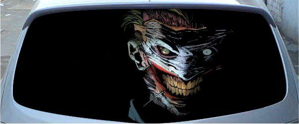 Винилография на заднее стекло - Batman 3