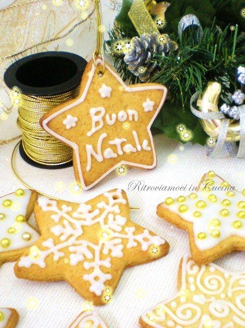Ritroviamoci in Cucina: Stelle di Natale Arancia e Cannella