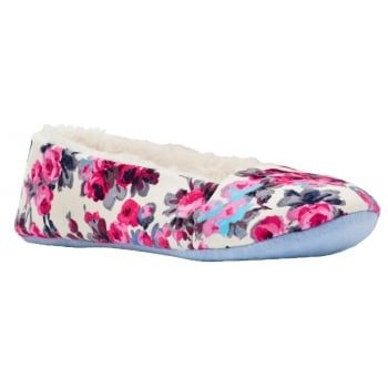 For when you're in need of a little feet up time or just want to step about the house in style and comfort, get your feet into these cosy Joules slippers. http://www.marshallshoes.co.uk/womens-c2/joules-womens-dreama-cream-ditsy-slippers-p4208