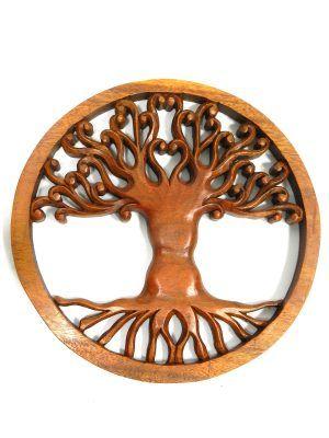 47385342289c Mandala árbol de la vida tallado en madera
