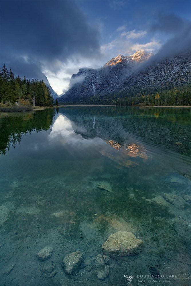 Dobbiacco Lake, Italy (by Marco Milanesi)