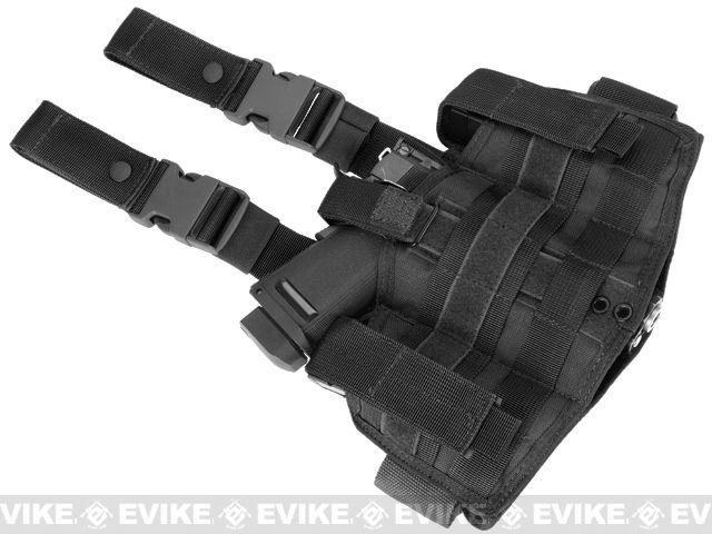 Pre-Order Estimated Arrival: 11/2012 --- Phantom Gear Drop Leg Thigh Holster - Black