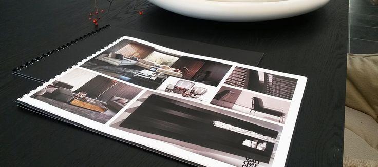 Interieur advies collage Minotti meubels