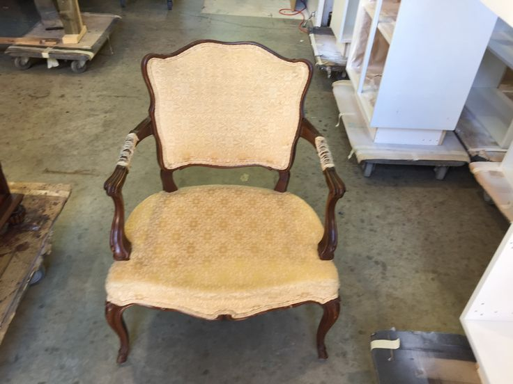 #livingroom #accent #chair needs #repair, #refinishing & #reupholstering