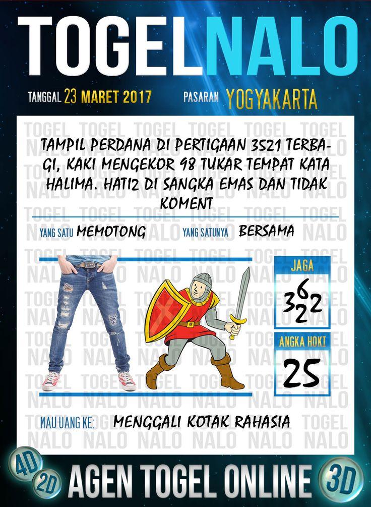 Kode Angka 4D Togel Wap Online TogelNalo Yogyakarta 23 Maret 2017