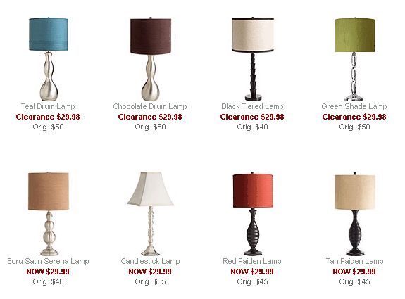 Bromeliad: $30 lamps at Pier 1 - Fashion and home decor DIY and inspiration