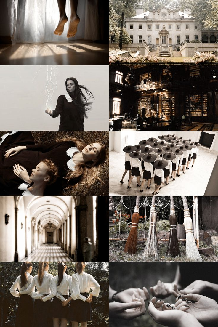 school of witchcraft aesthetic (more here)