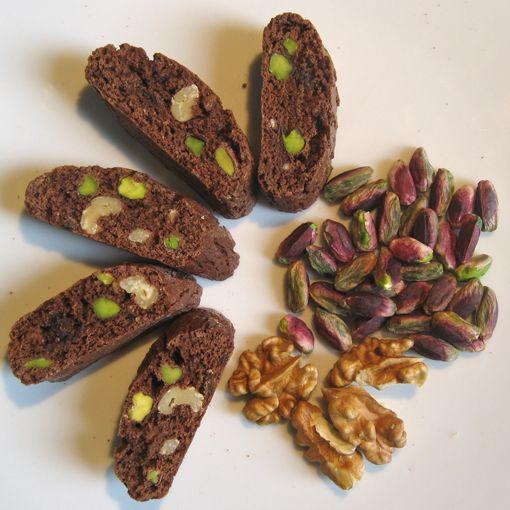 SFIZIO - Biscotti Artigianali di Toscana al cioccolato e pistacchi