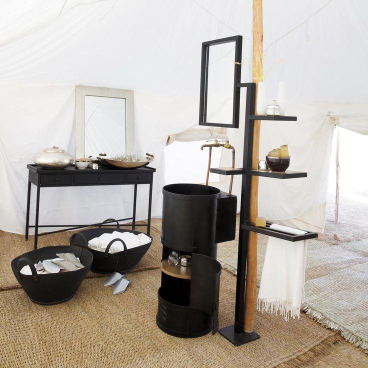 meuble une vasque salle de bain gaspard maison du monde 799euros h185xl100xd35