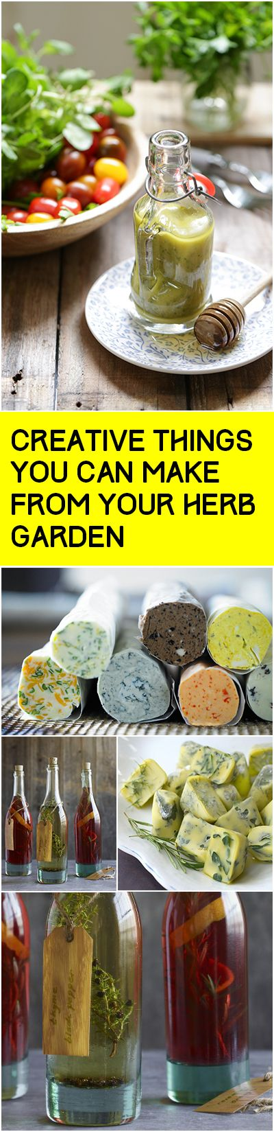 Creative Things You can Make from Your Herb Garden