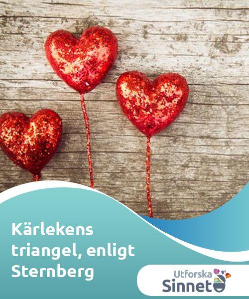 """Kärlekens triangel, enligt Sternberg  """"Det #mänskliga hjärtat är ett instrument med många #strängar; den perfekta #människokännaren kan spela på dem alla, som en #skicklig musiker."""""""