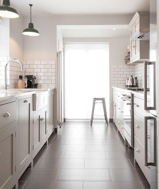 modern neutral shaker kitchen