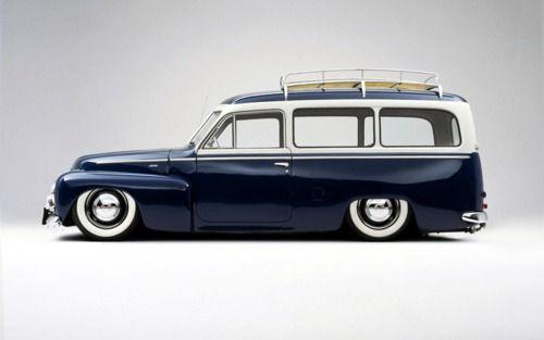 Slammed '58 Volvo Duett