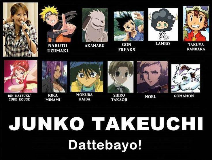 Junko Takeuchi - Naruto voice-actress