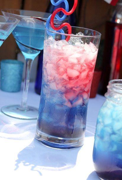 Bomb Pop cocktail recipe. Option 1: Lemonade. Mike's Hard Cranberry. UV Vodka Blue. Option 2: Smirnoff Ice. Blue Curacao. Cranberry Juice. Option 3: 2 oz Bacardi Razz rum. 2 oz lemonade. 2 oz Blue Curacao. Option 4: 1/2 shot Cherry Vodka. 1/2 shot Blue Curacao. drizzle grenadine. 1/2 bottle Smirnoff Ice