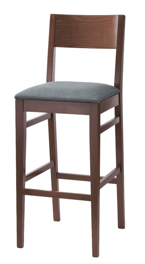 Oro wood frame quality bar stool design your own stool choose your own colour and fabric