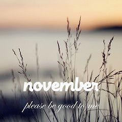 November, Please Be Good To Me (Monika Gete) Tags: November Sunset Night