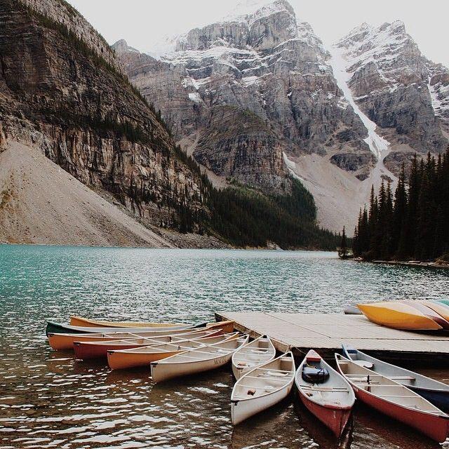 Ready, set, canoe.