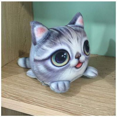 Kitten Big Eyes Cat Pattern Decorated Simple Design Gray. Cute and elegance REPIN if you agree.😊 Only 101 IDR