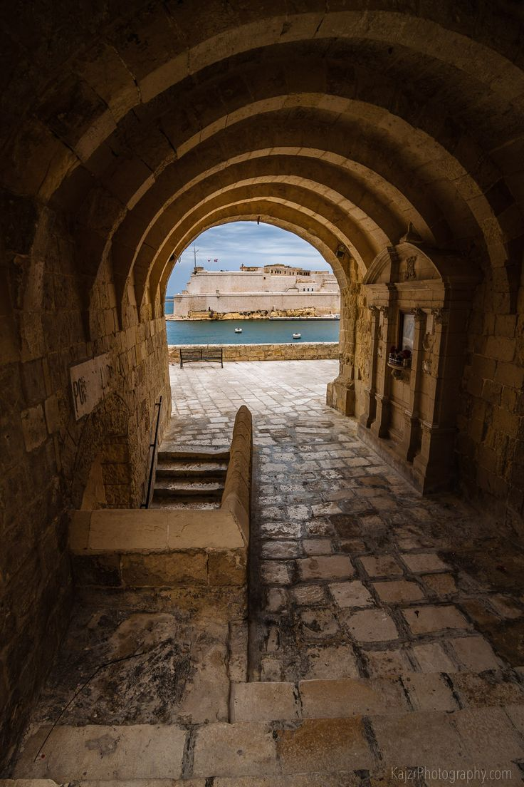 Old fortress - Fortress in Senglea - part of the Tricity with Valletta and Birgu on the Malta island