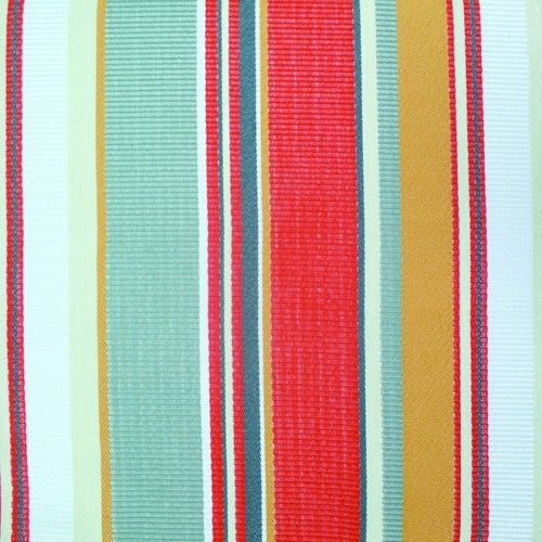 Sunbrella Malena Stripe Sunset SUF1375 05 Indoor Outdoor Upholstery Fabric    Sunbrella Malena Sunset