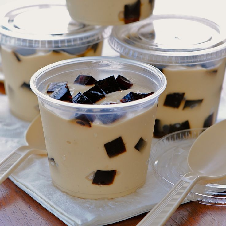 JULES FOOD... Espresso Pudding Coffee Jelly Surprise