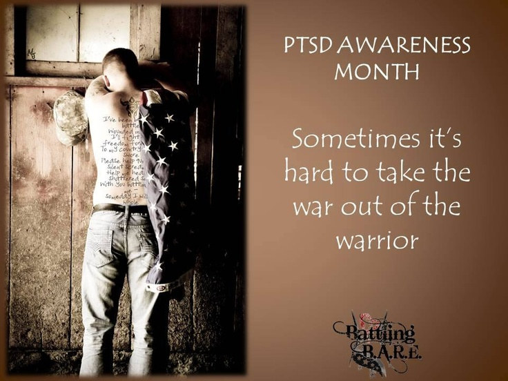 PTSD Awareness Battling BARE