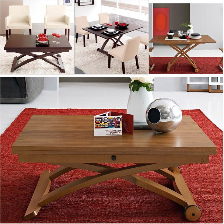 17 meilleures id es propos de table relevable sur pinterest table modulab - Tables basse relevable ...