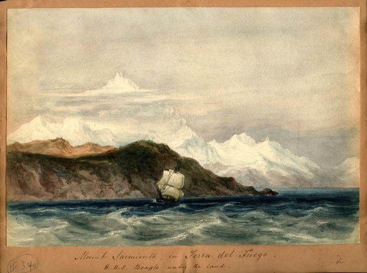 Conrad Martens, Mount Sarmiento