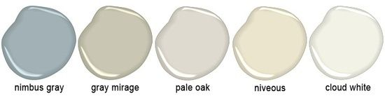 "Candice Olson's Five ""Go To"" Benjamin Moore Colors"