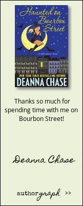 """Authorgraph from Deanna Chase for """"Haunted on Bourbon Street"""""""
