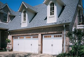 REQUEST A QUOTEInsulated steel construction, fashioned to resemble the elegant wood designs of traditional carriage house doors. Polyurethane Insulation R-value 12.76. Lifetime Limited Warranty.