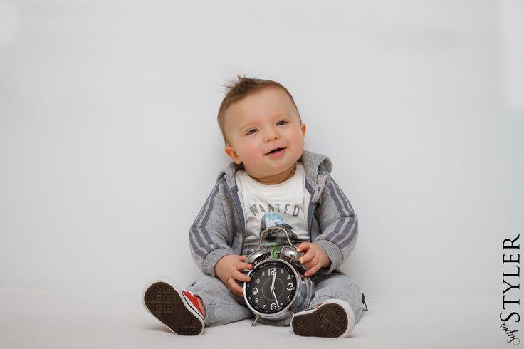 Licznik sobie urodziłam baby, boy, adidas originals for baby, clock,
