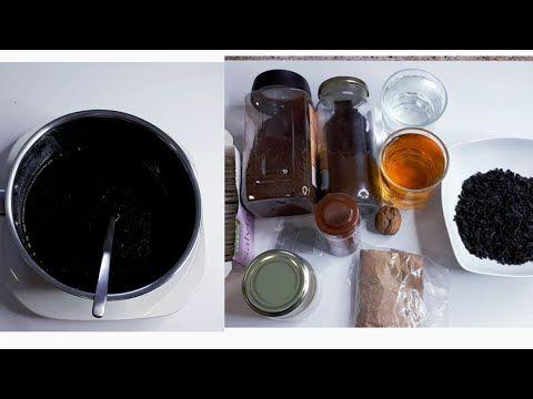 Como teñir el cabello oscuro de forma natural.(parte 1) ingredientes y preparación. - YouTube
