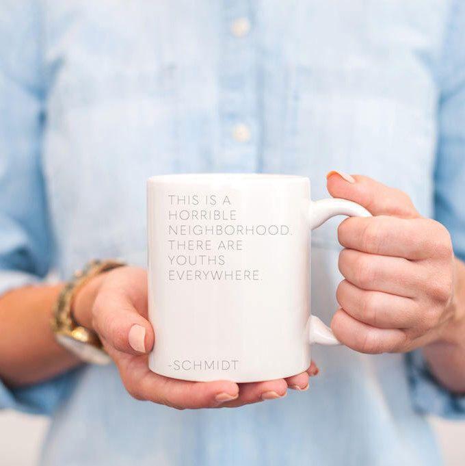 new girl mug - new girl schmidt - new girl winston - new girl quotes - new girl schmidt quotes - new girl show - new girl TV show - schmidt by BonnieBryantCreative on Etsy https://www.etsy.com/listing/550635126/new-girl-mug-new-girl-schmidt-new-girl