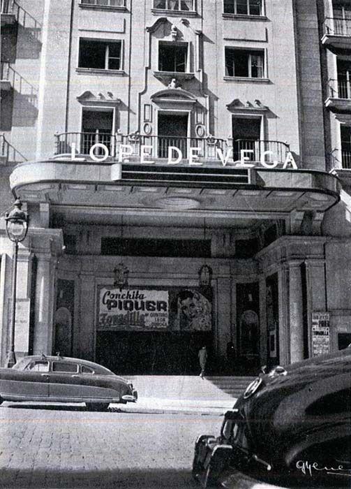Historias matritenses: Gran Vía de Madrid, centro neurálgico del cine español (III)