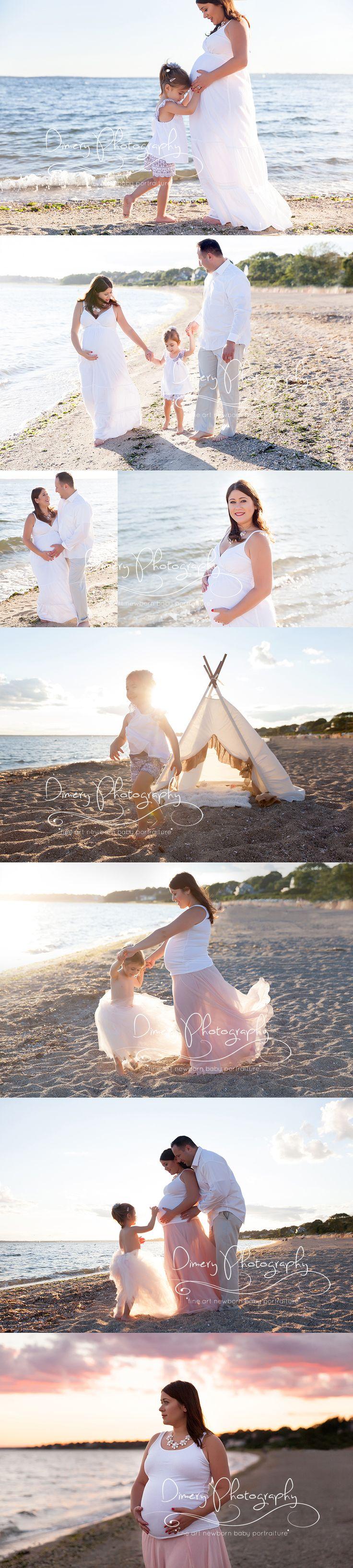 Beautiful beach maternity photos.
