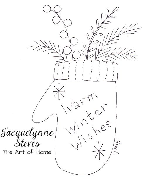 It's the perfect season for cozy winter stitching!! I think this would be really cute embroidered onto a pillow or quilt. Or make a wall hanging! Wool would be really great for this, too. You could also use it for a coloring sheet. Get my coloring tips in this video, and tips for using watercolor... Keep reading...