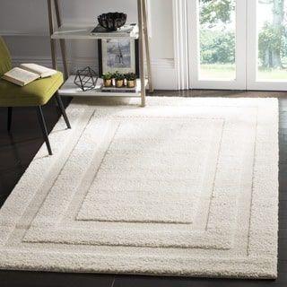 Shop for Safavieh Shadow Box Ultimate Cream Shag Rug (5'3 x 7'6). Get free shipping at Overstock.com - Your Online Home Decor Outlet Store! Get 5% in rewards with Club O! - 13499218
