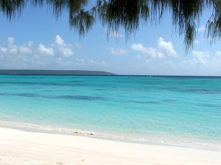 Plage de Luengoni (Ile de Lifou, Nouvelle-Calédonie)
