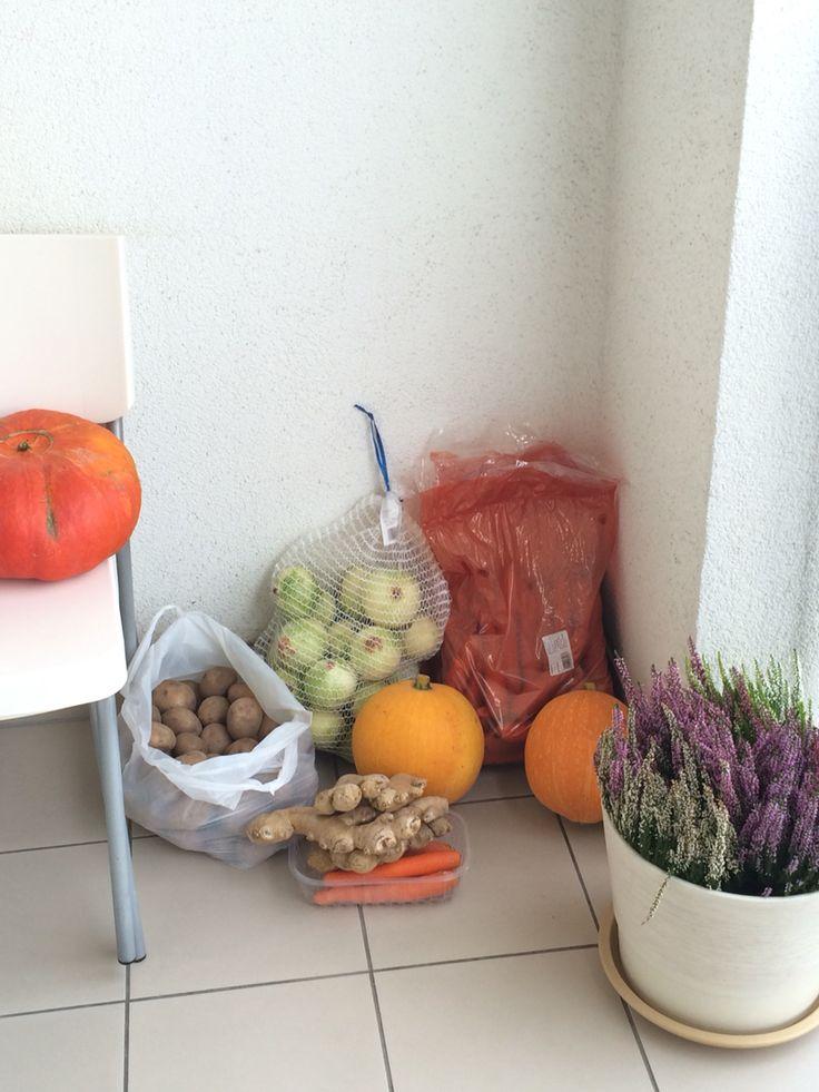 Pumpkin soup project