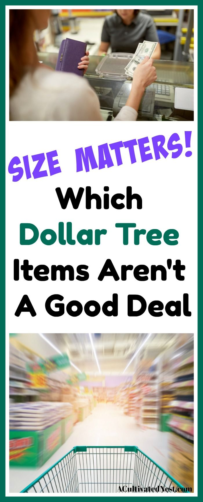 357a41bc9d3 Do you shop at the dollar store? Check out my list to find which Dollar  Tree items simply aren't a deal so you can shop smarter!
