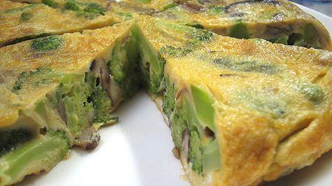 ブロッコリーのトルティージャ(スペイン風オムレツ)|スペイン料理簡単レシピ集