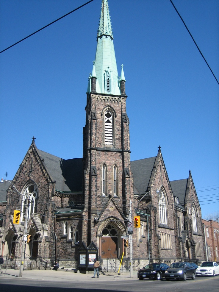The Jarvis Street Baptist Church is a Baptist church located at the intersection of Gerrard Street and Jarvis Street in downtown Toronto, Ontario. One of the oldest churches in the city, its congregation was founded in 1818, and the present church constructed in 1875.
